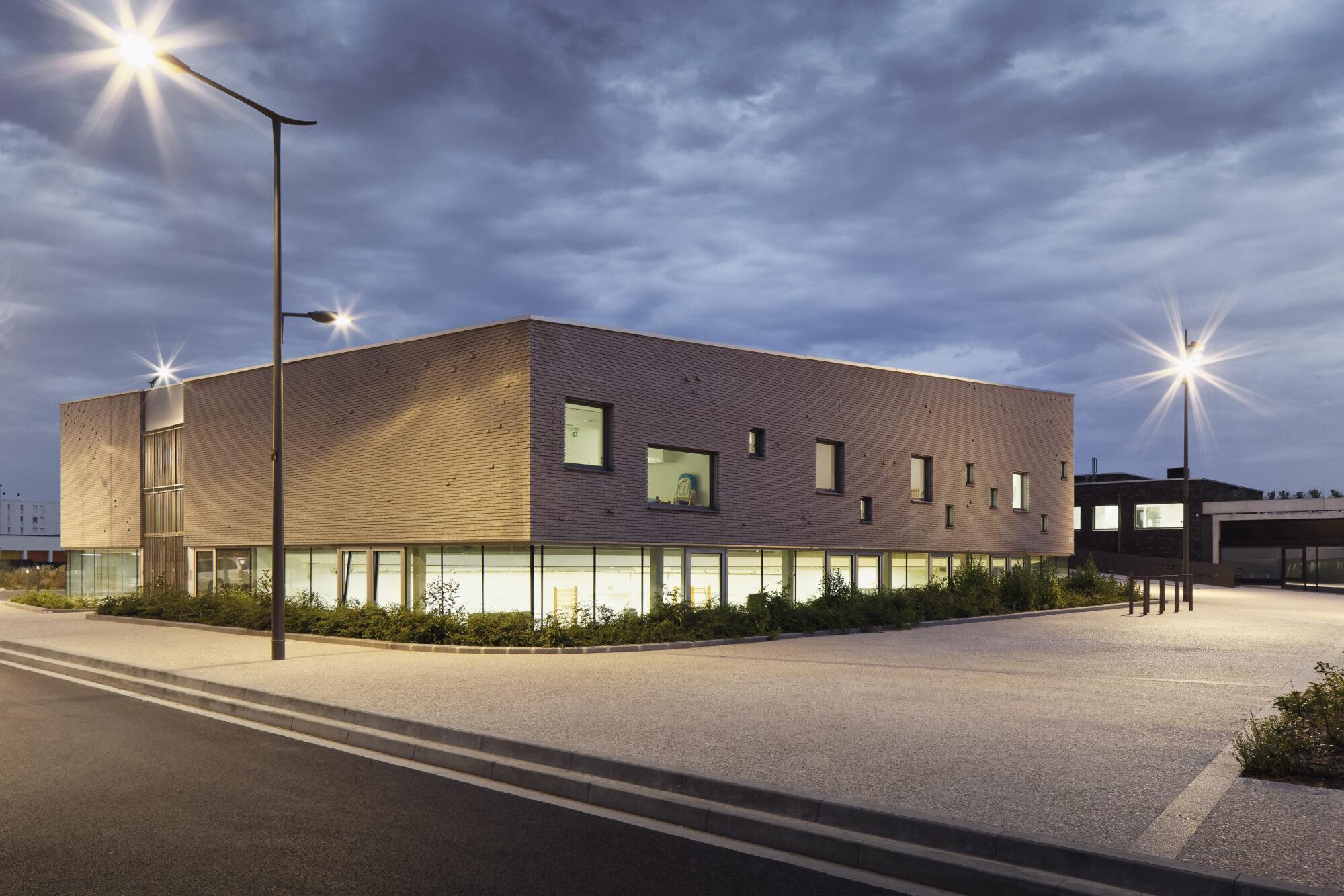 F+F Architecture Maison de quartier et salle municipale à Reims ©camillegharbi