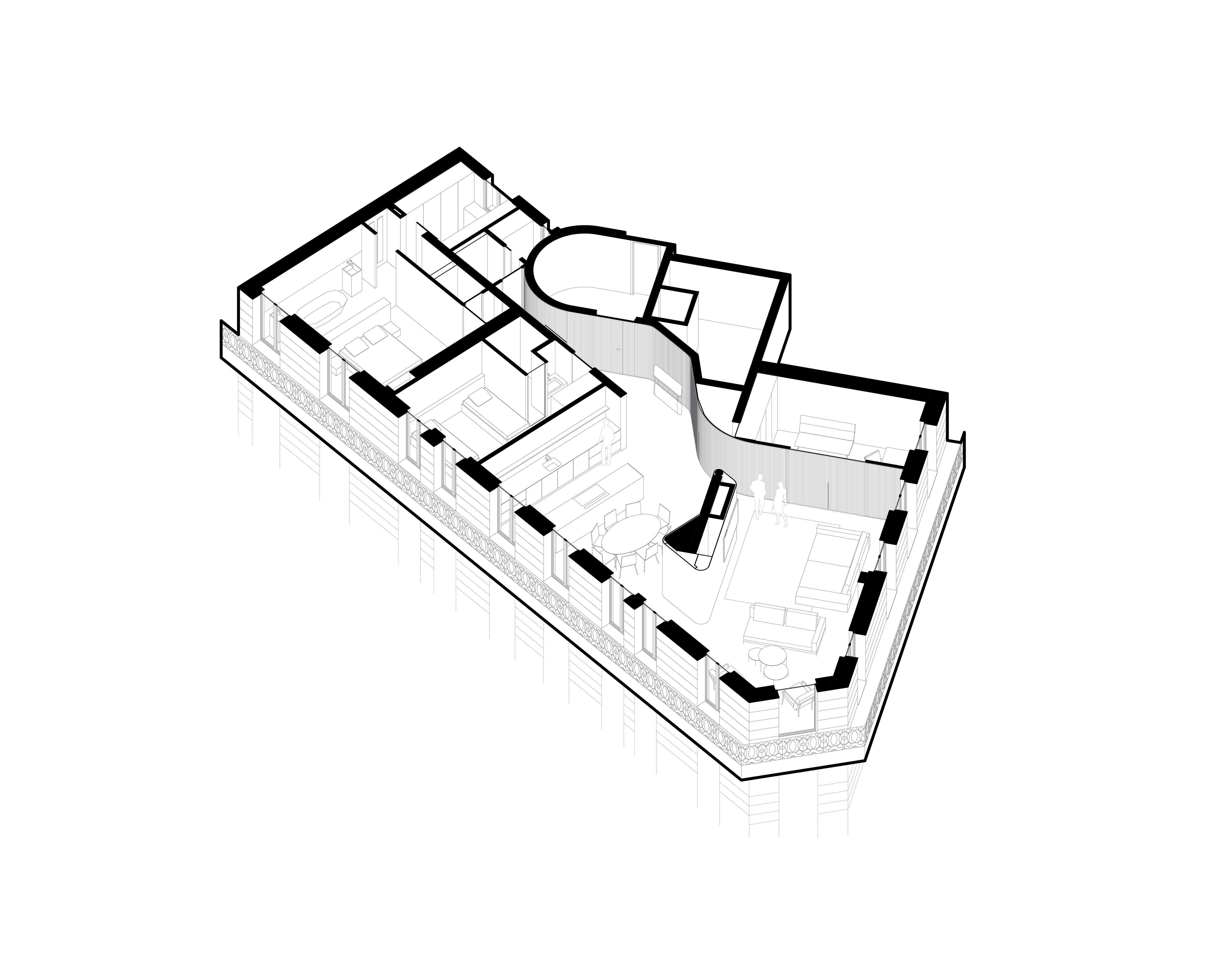 TRDN – Axonométrie