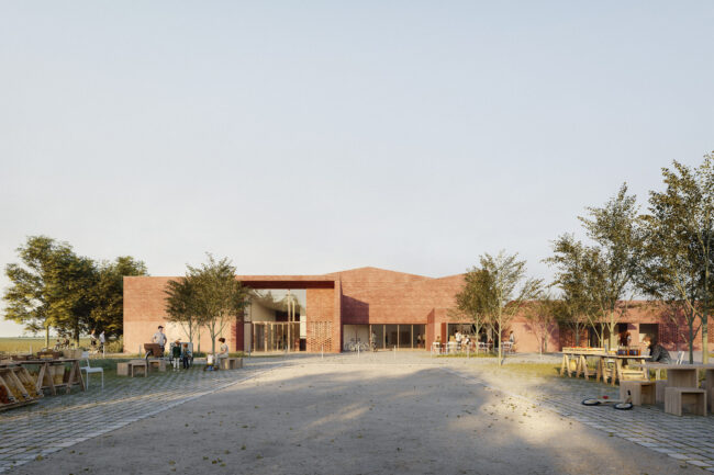 F+F wins competition for a sport and multi event space